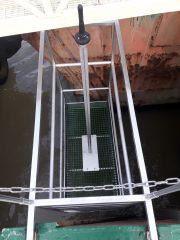 Sonde multiparamètre mesurant en continu et à haute fréquence : température, salinité, oxygène dissous, matières en suspension