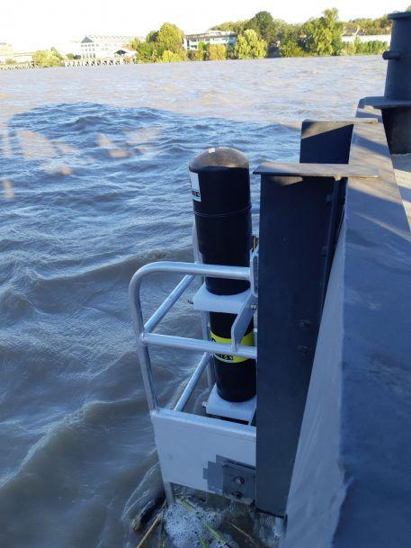 Evolution du réseau SYVEL : une nouvelle sonde multiparamètre SAMBAT installée à Trentemoult