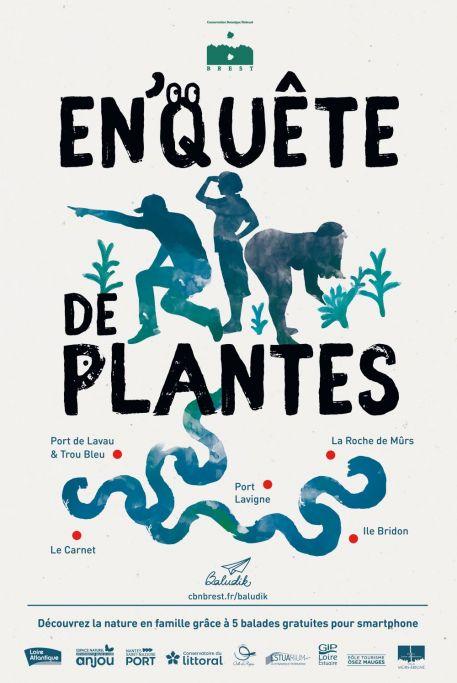 """""""En'Quêtes de plantes"""": balades botaniques numériques ludiques"""