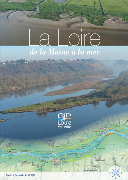 La Loire de la Maine à la mer - Carte dépliante