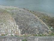 Cale abreuvoir en éventail située en amont du pont de Chalonnes-sur-Loire