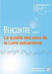 29 janvier 2013 : La qualité des eaux