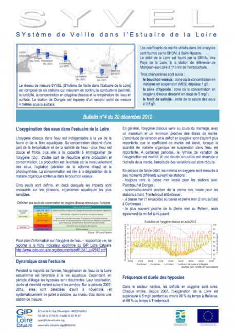 Bulletin SYVEL n°4