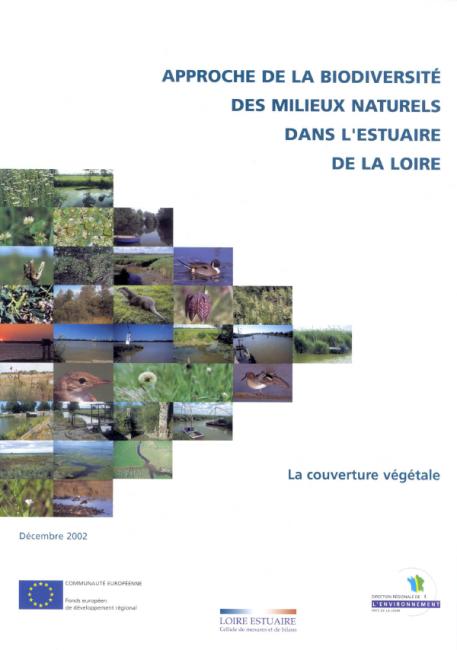 Approche de la biodiversité des milieux naturels de l'estuaire de la Loire - La couverture végétale