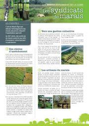 Les marais estuariens de la Loire - Les syndicats de marais