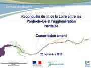 Commission amont du 26 novembre 2013