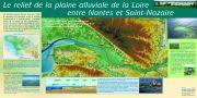 Le relief de la plaine alluviale de la Loire entre Nantes et Saint-Nazaire