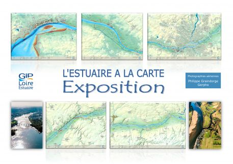 """""""L'estuaire à la carte"""" s'expose à la Maison du Lac de Grand-Lieu"""