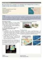 Etudes : L'actualisation du référentiel topographique de la Loire est en cours.